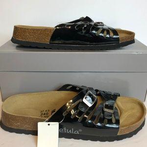 Betula Birkenstock Leather Buckle Sandals Shoes